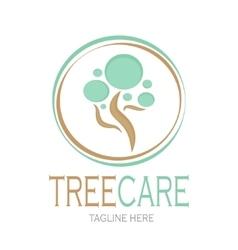 Tree care logotype Stock vector image