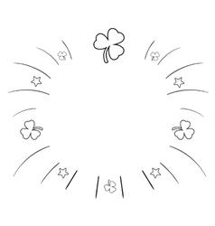 Summer background Sketchy vector image