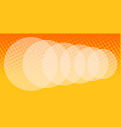 abstract orange blur background vector image
