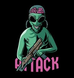 Alien attack vector