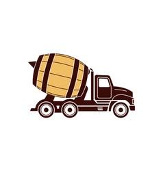 Brawery-truck vector