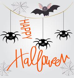 cute sweet halloween witch cartoon vector image