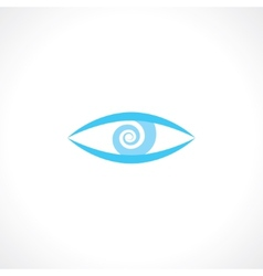 eye symbol vector image