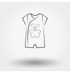 Infant Bodysuit vector image