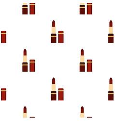 lipstick pattern flat vector image