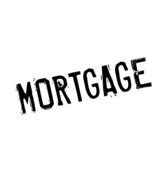 mortgage rubber stamp vector image