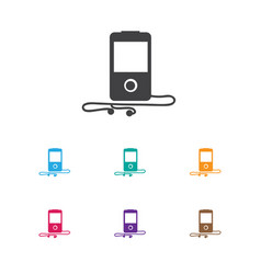 of gadget symbol on media vector image