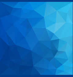 Polygonal square background sky blue gradient vector