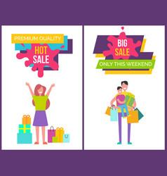 premium quality hot big sale vector image