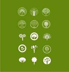 Tree bundle logo vector