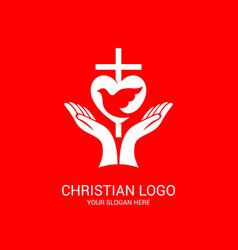 Unity believers in jesus christ vector