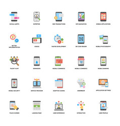 Web and mobile application development icon vector