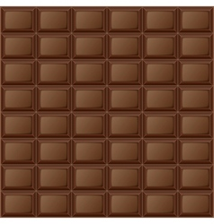 Background chocolate bar vector image vector image