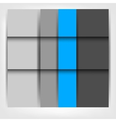 Background with abstract blank for text vector image