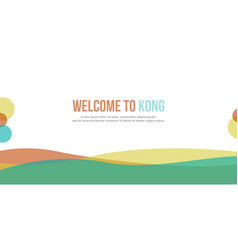 Abstract header website modern design vector