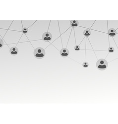 Active user connection model - web net vector