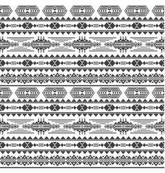 aztec culture seamless pattern mexican vector image