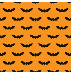 Bats seamless background vector