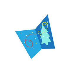 Beautiful festive decorative card with vector