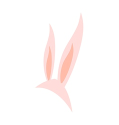 Bunny ears for party vector