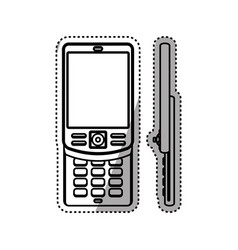 cellphone mobile technology vector image