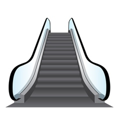 Escalators Background vector
