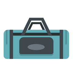 Road bag icon isolated vector