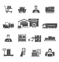 Storage Icons Set vector