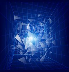 dimension2 vector image vector image