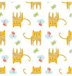 pattern animal vector image
