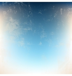 Beige Blue Grunge vector image