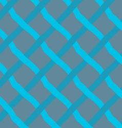 Blue diagonal crossing lines vector