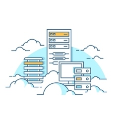Cloud service database vector