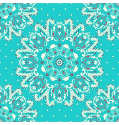 Elegance lace pattern on a blue background with vector image