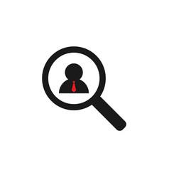 job vacancy icon graphic design template vector image