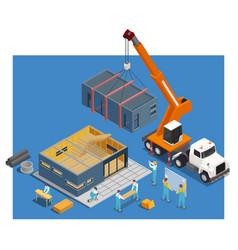 Modular truck construction composition vector