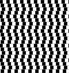 optical illusion pattern vector image