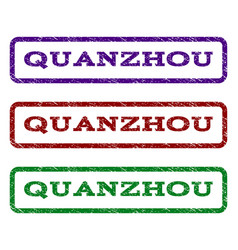 Quanzhou watermark stamp vector
