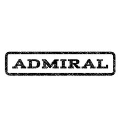 Admiral watermark stamp vector