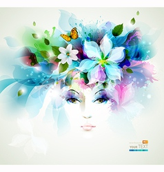 Beautiful women vector