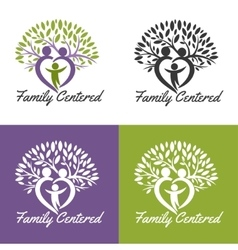 Family centered vector