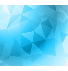 Geometric Abstract Modern BLUE GEOMETRIC vector image
