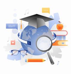 Global learning vector