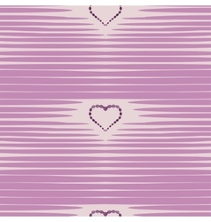 Heart abstract background vintage pattern vector