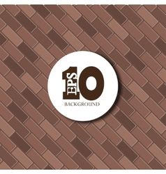 Red brick background texture Eps10 vector