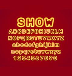 show city color blue font vector image