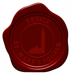 St marks square sealing wax vector