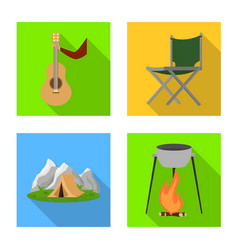 Tourism and excursions icon vector