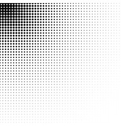 abstract dotted halftone texture vector image