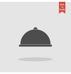 Dish served vector image